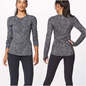 Lululemon Extra Mile Long Sleeve Top